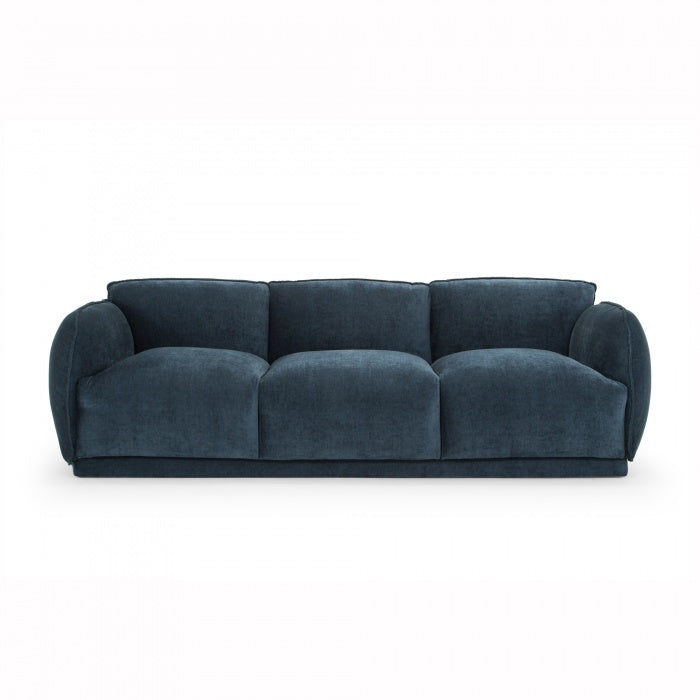 Jules 3 Seater Sofa - Dusty Blue - Notbrand