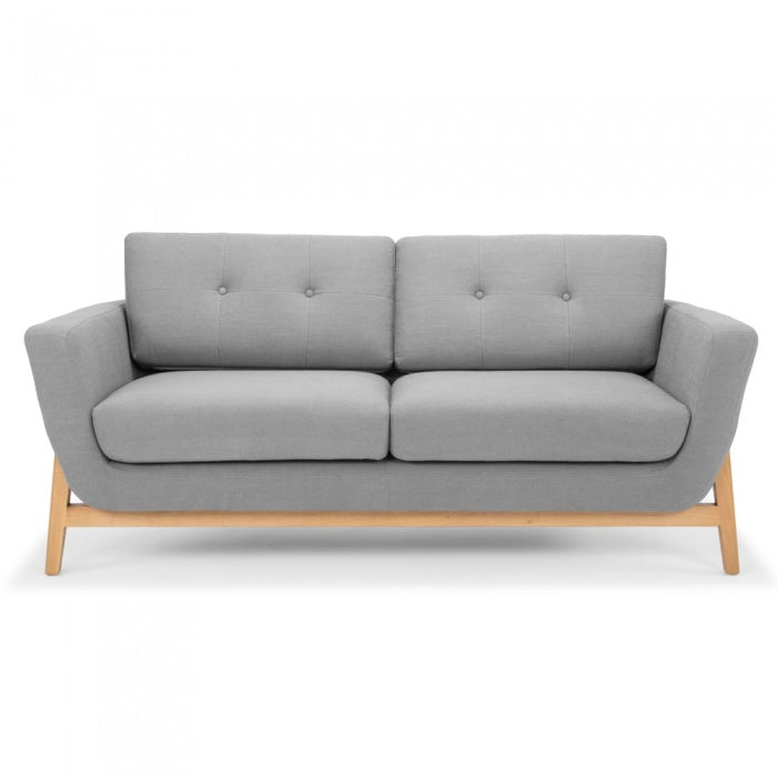 Versatile 2 Seater Sofa - Steel Grey - Notbrand