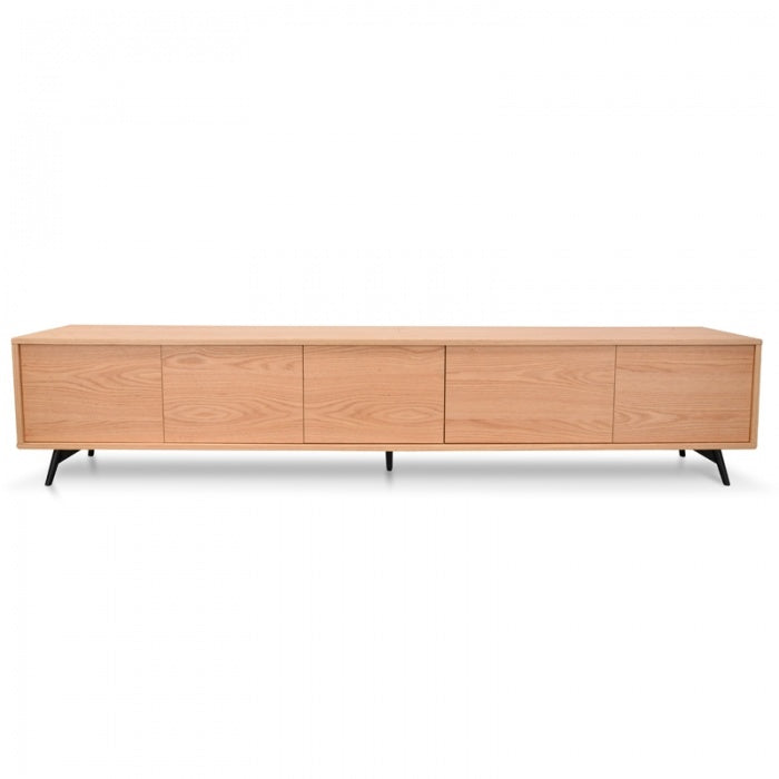 Novo Contemporary Entertainment TV Unit - Natural - Notbrand