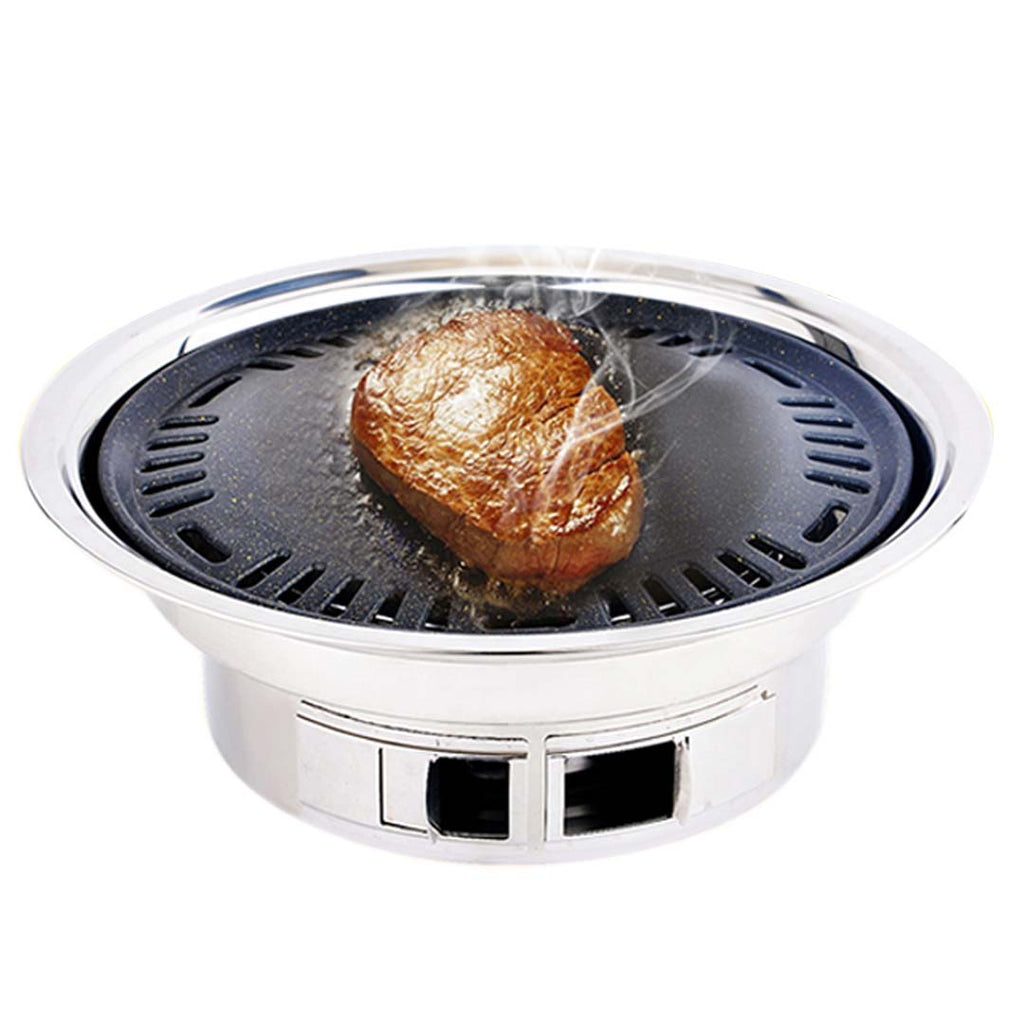 Portable Stainless Steel BBQ Grill - Smokeless - Notbrand