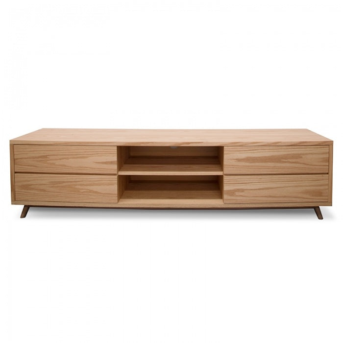 Declan Scandinavian Lowline TV Entertainment Unit - Natural - Notbrand