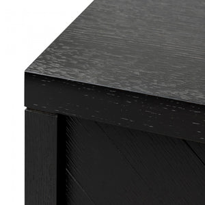 Hiram Entertainment TV Unit - Textured Ebony Black 1.8m - Notbrand