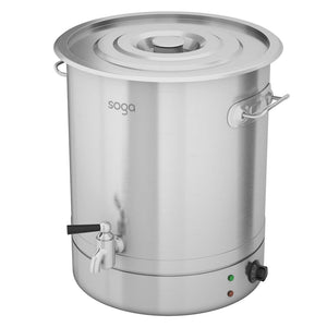 Stainless Steel Electric Urn Water Boiler - 21L - Notbrand