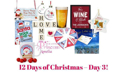 12 Days of Christmas – Day 3!