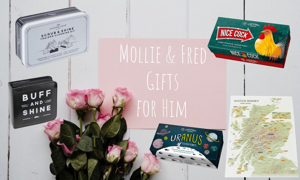 Mollie & Fred Valentine's Day Gifts for Men