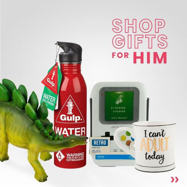shop gifts for him here at mollie and fred
