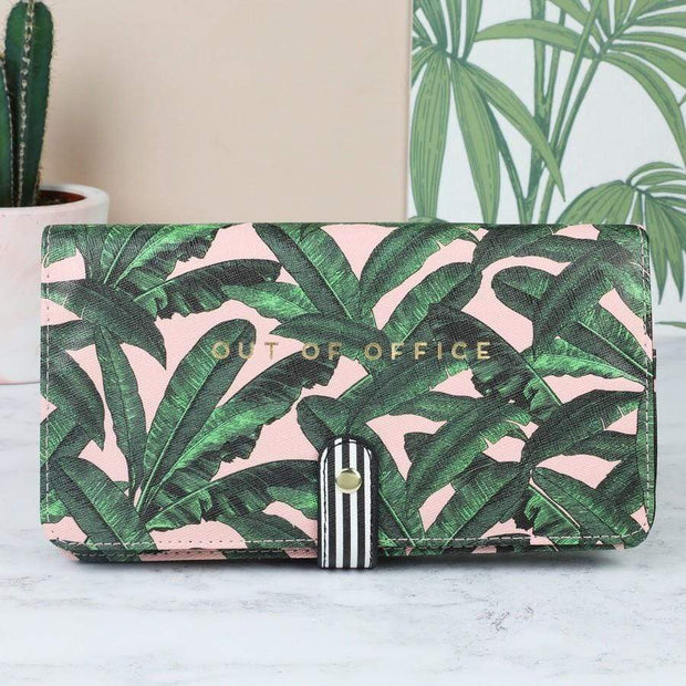 Alice Scott Purses & Travel Wallets Out Of Office Floral Travel Wallet