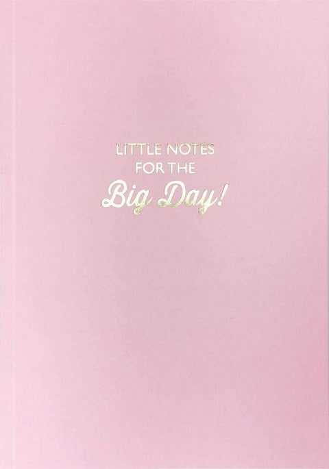 Bluebell 33 Notebooks Little Notes For The Big Day Lined Notebook