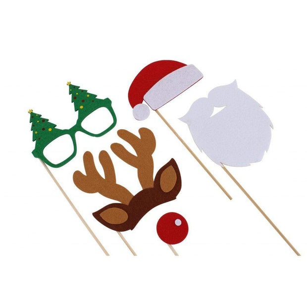 CGB Giftware Christmas Decorations Christmas Photo Booth Props