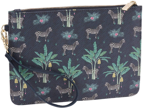CGB Giftware Bags Zebra Jungle Clutch Bag