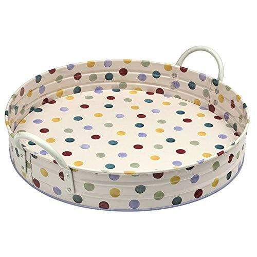 Emma Bridgewater Kitchen Accessories Round Serving Tray with Polka Dot Design