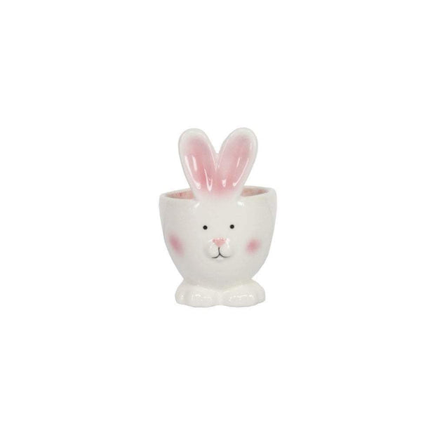 Gisela Graham Easter Easter Decorations Ceramic Bunny Egg Cup