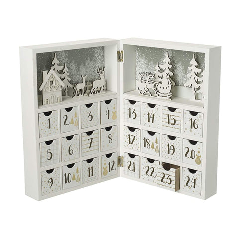 Heaven Sends Christmas Advent Calendar Luxury Wooden Book Merry Christmas Advent Calendar