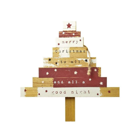 Heaven Sends Christmas Wall Signs & Plaques, Christmas Decorations Hanging Christmas Tree Plaque
