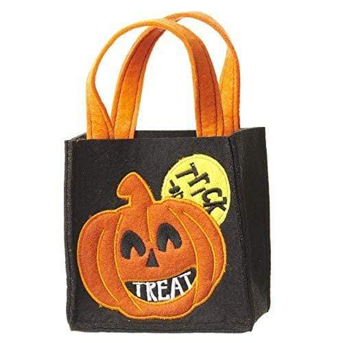 Heaven Sends Halloween Decoration Felt Halloween Trick or Treat Bag
