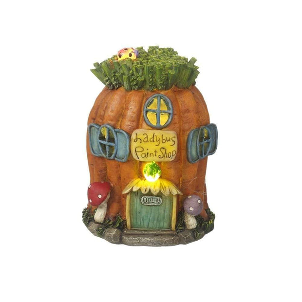 Heaven Sends Light Up Fairy House Ornament