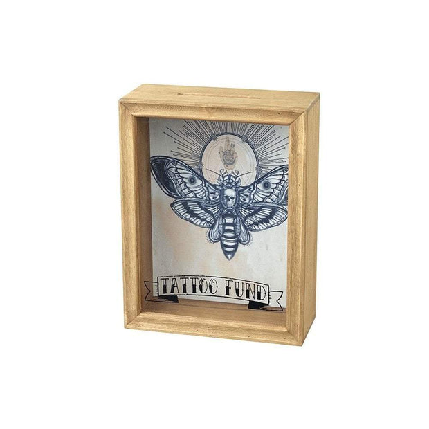 Heaven Sends Money Boxes Tattoo Fund Savings Money Box