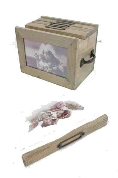 Heaven Sends Photo Frames & Albums Wooden Photo Album Box