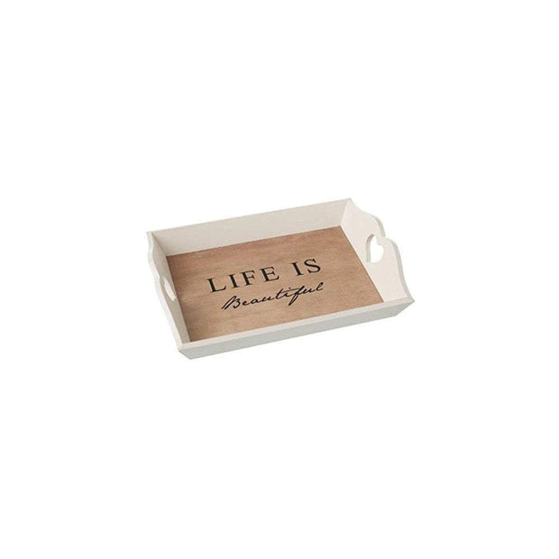 Heaven Sends Trays Heaven Sends Life Is Beautiful Wooden Tray