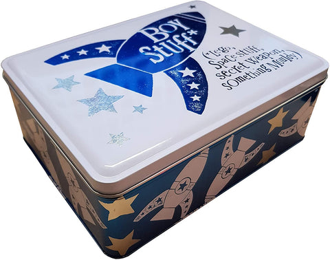 Mollie and Fred Gifts Brightside Boy Stuff Storage Tin