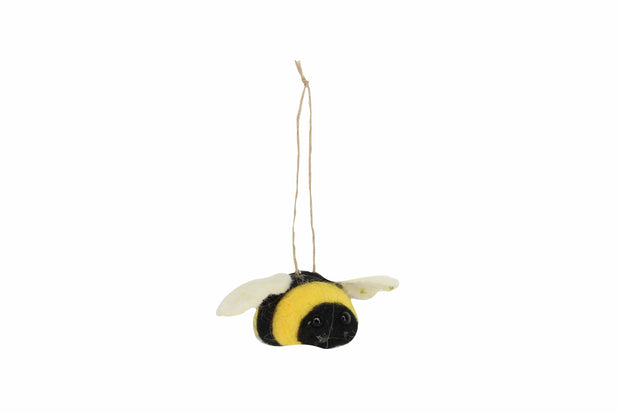 Mollie and Fred Gifts Felt Bumble Tree Decorations