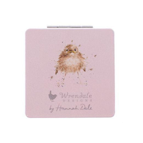 Mollie and Fred Gifts Illustrated Birds Compact Mirror