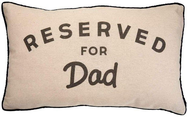 Mollie and Fred Gifts Reserved For Dad Cushion
