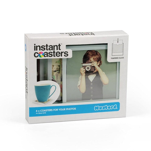 Mustard Coasters & Placemats Set of 4 Instant Photo Coasters