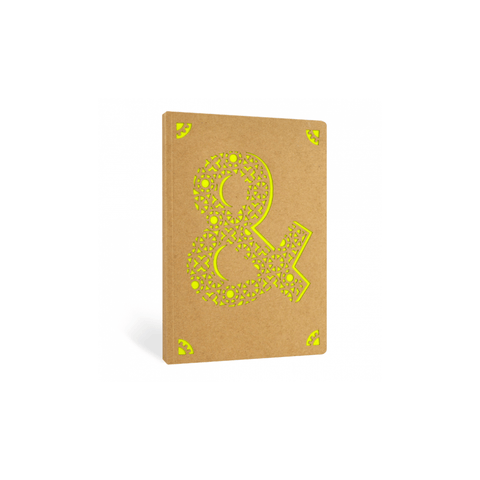 Portico Notebooks & Ampersand Kraft Monogram Notebook - Choice of letters