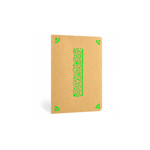 Portico Notebooks I Kraft Monogram Notebook - Choice of letters