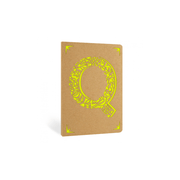Portico Notebooks Q Kraft Monogram Notebook - Choice of letters