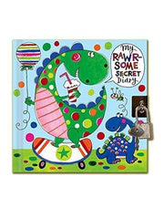 Rachel Ellen Diaries My Rawr-some Childrens  Secret Lockable Diary
