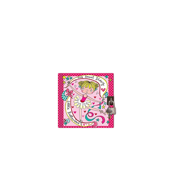 Rachel Ellen Journals Girls Ballerina Secret Lockable Diary