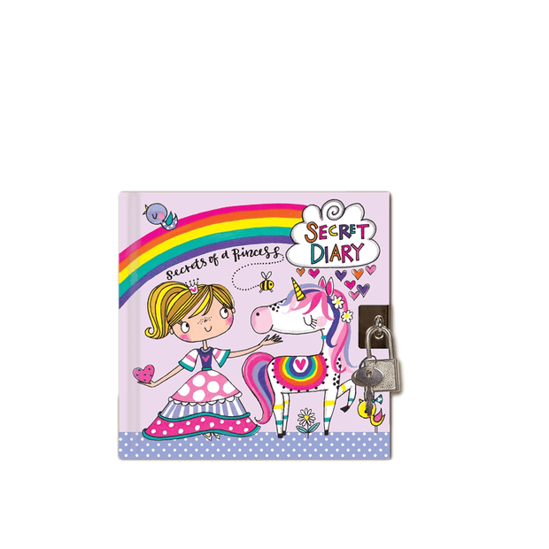 Rachel Ellen Journals Girls Secret of a Princess Lockable Diary