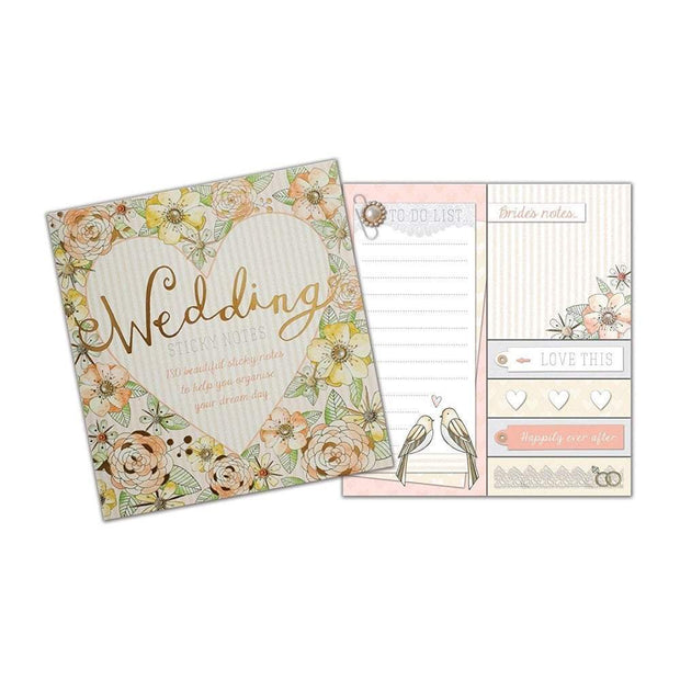 Rachel Ellen Sticky Notes Rachel Ellen Wedding Sticky Notes Set