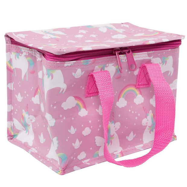 Sass & Belle Lunch Bags, Boxes & Tins Tote Unicorn Lunch Bag - Pretty Pink