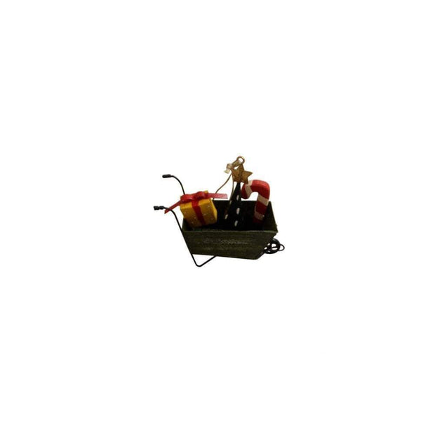 Shoeless Joe Christmas Decorations Christmas Themed Wheelbarrow Tree Decoration