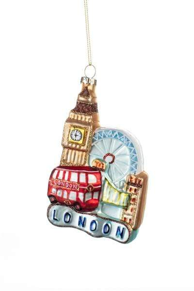 Shoeless Joe Christmas Decorations London Scene Christmas Bauble Decoration