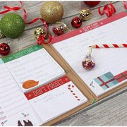 Something Different Stationary Organisers Kraft Christmas Planner With Tear Off Pads