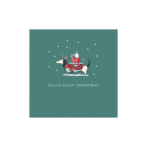 The Artfile Stationary Christmas Decorations Holly Jolly Christmas Cards