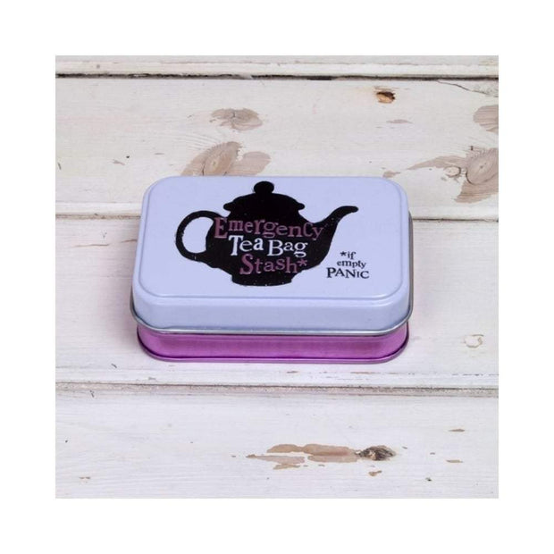 The Bright Side Storage Tins Emergency Teabag Tin Handbag Size