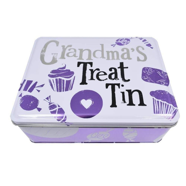 The Bright Side Storage Tins Grandma's Treat Tin, sweets for the grand kids