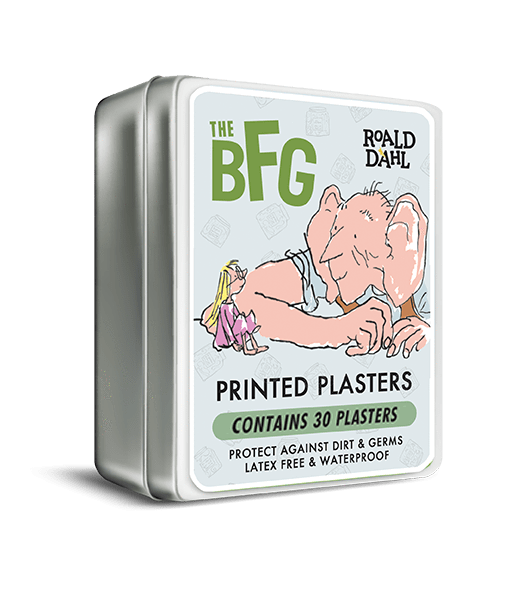 The Gift Box Company Bathroom The BFG Printed Plasters - Set of 30