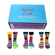 United Odd Socks Socks Cool Dad Oddsocks Gift Set - Mens Novelty Socks