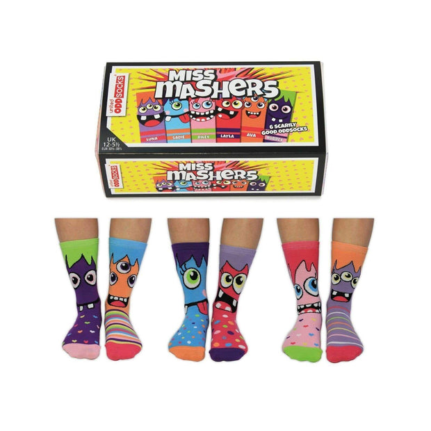 United Odd Socks Socks Novelty Socks for Girls - Miss Mashers