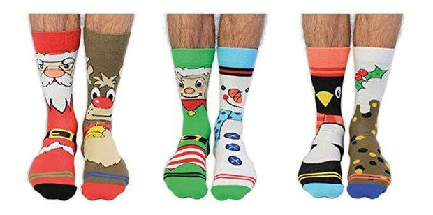 United Odd Socks Socks Santa Banta Christmas Socks
