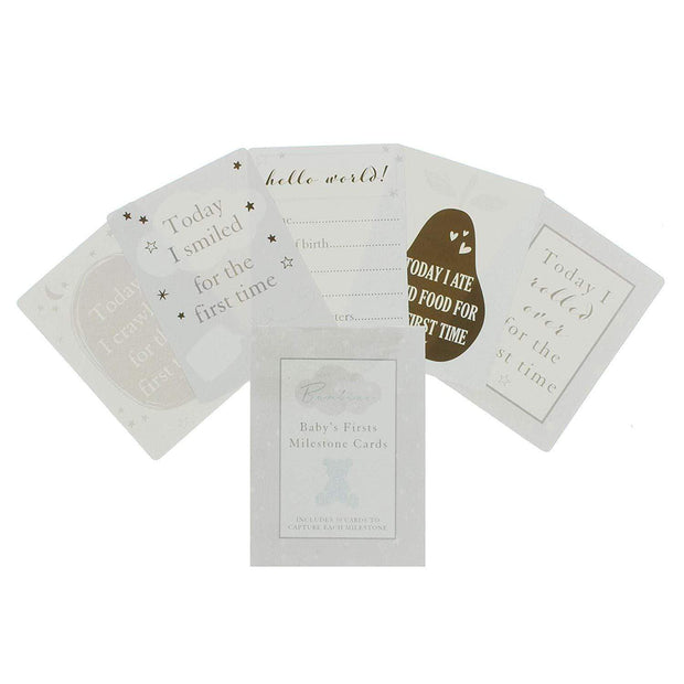 Widdop Gifts Childrens Stationery Bambino Little Star Social Media Milestone Cards for Baby's Firsts