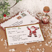 Widdop Gifts Christmas Decorations Dear Santa Letter & Mini Wish Jar