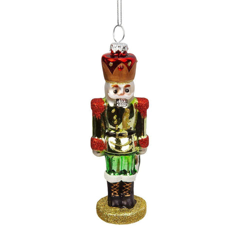 Widdop Gifts Christmas Decorations Hanging Green Suit Nutcracker Decoration
