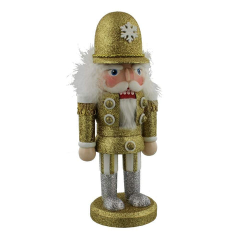 Widdop Gifts Christmas Decorations Nutcracker Gold Festive Ornament